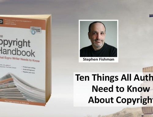 Ten Things All Authors Need to Know About Copyright